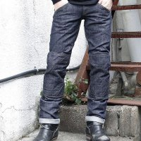 ウエストライド モトパンツ WEST RIDE WR1109 PADD MOTO PANTS [BLUE DENIM] MB1508