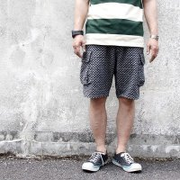 ウエストライド ハーフパンツ WEST RIDE CYCLE CARGO SHORTS [BLACK×OFF] MB1812