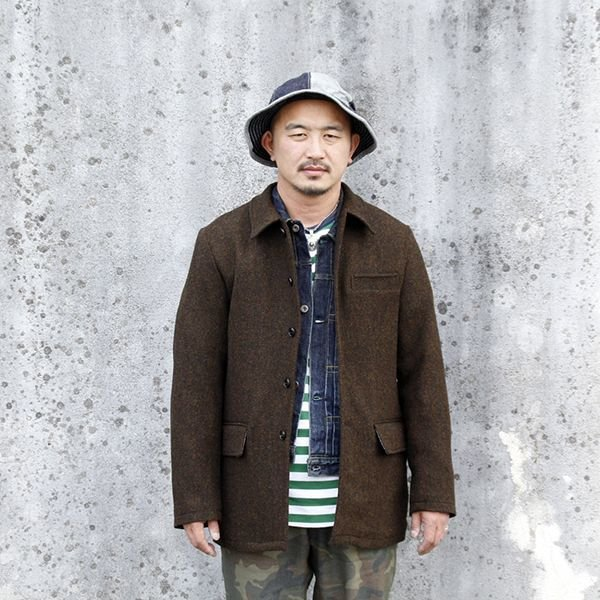 "画像1: ジェラード ウールコート JELADO Basic Collection ""Hobo Coat"" [MARON] AG43423"
