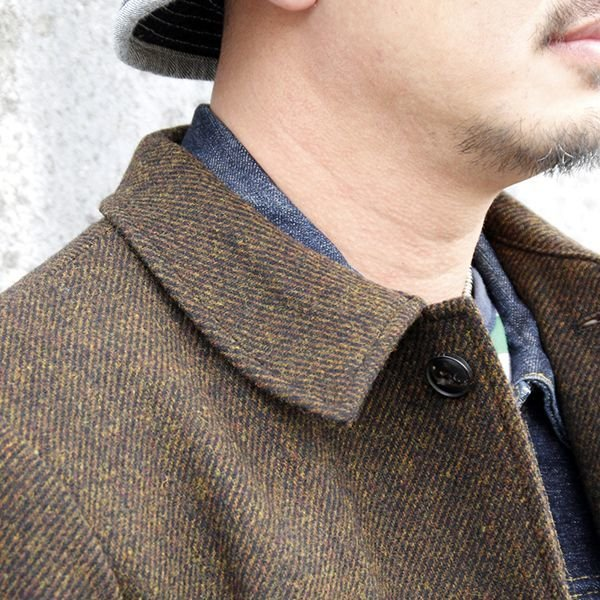 "画像2: ジェラード ウールコート JELADO Basic Collection ""Hobo Coat"" [MARON] AG43423"