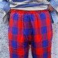 画像5:  スリーフェイス THREE FACE リバーシブルイージーパンツ REVERSIBLE EASY PANTS   [BLOCKCHECK×BK CORDUROY]
