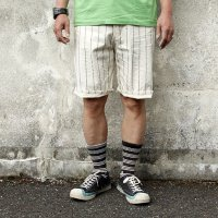 ダッパーズ DAPPERS GRIEMBAUM SHORTS [OFF WHITE ROPE WABASH] LOT1389