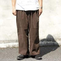 COMFY コムフィ WIDE ROCKER PANTS [BROWN CORDUROY]