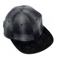 エイチダブルドッグ  THE H.W.DOG&Co -OMBRECHECK CAP-[BLACK] D-00461